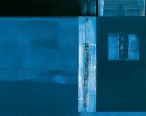 1. Spiga d'acanto come isola – 2005 – olio su tavola – cm 100x126