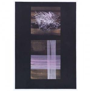 Amabili resti . 2007 . inchiostri e pigmenti su carta . cm.70x50