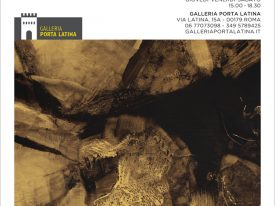 Senza permesso in un campo – Mostra personale – Galleria Porta Latina, Roma