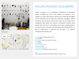 Open House Roma 2016 – 7/8 maggio 2016 – Atelier Vincenzo Scolamiero