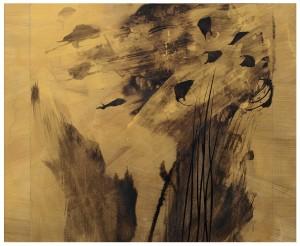 4 Lascia parlare il vento_2, cm.40x48, pigmenti su carta, 2015